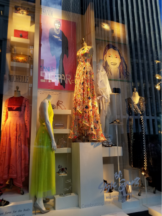 Best Window design for NY Fashion Week